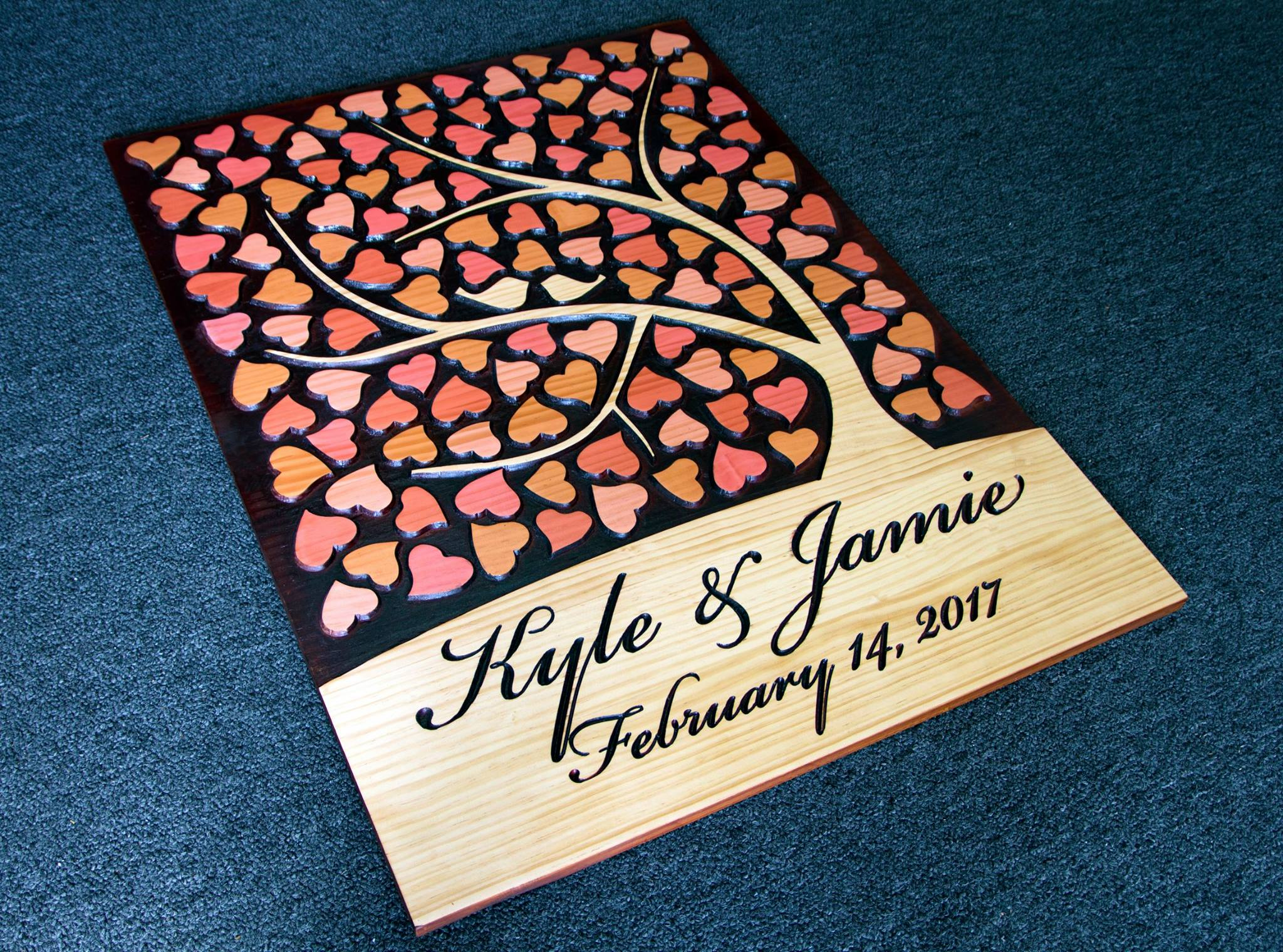 Lasercuts Ltd Wedding Signature Boards